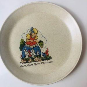Vintage Johnson Australia Nursery Rhyme Plate